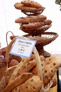 Brot in allen Arten und Formen