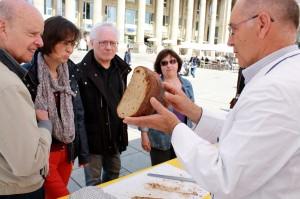 Brotprüfung mit Hans-Georg Baum