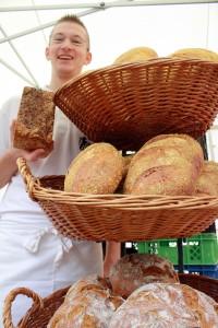 Reichhaltige Auswahl an Broten