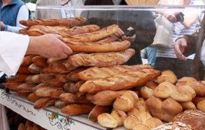 Vorrat der französischen Gastbäckerei